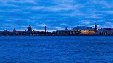 Vasilevsky Island. St. Petersburg. Russia 1 — Stock Video