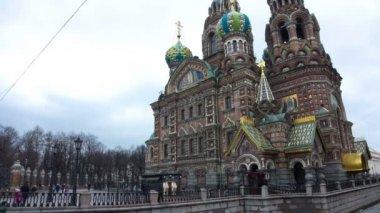 Spas na krovy. St. Petersburg. Russia — Stock Video