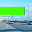 Billboard green screen — Stock Video