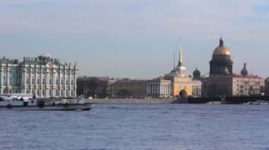 Hermitage Palace. St. Petersburg. Russia — Stock Video