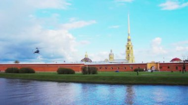 Peter and Paul Fortress. St. Petersburg. Russia — Stock Video