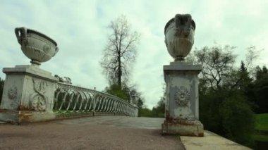 Pavlovsk Park. St. Petersburg. Russia. — Stock Video