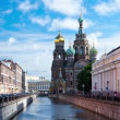 Church of the Savior on the Spilled Blood. St. Petersburg. Russia. timelapse — Stock Video #48466125