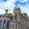 Church of the Savior on the Spilled Blood. St. Petersburg. Russia. timelapse — Stock Video #48469359
