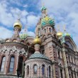 Church of the Savior on the Spilled Blood. St. Petersburg. Russia. timelapse — Stock Video