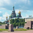 Church of the Savior on the Spilled Blood. St. Petersburg. Russia. timelapse — Stock Video #49239695