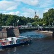 Moika River Embankment. St. Petersburg. Russia. timelapse — Stock Video #49242903