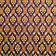 Thai pattern cloth — Stock Photo