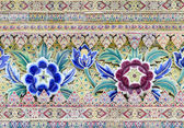 Ceramic multi color flower — Stok fotoğraf