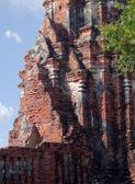 Chaiwattanaram Tapınağı olarak cam ball. — Stok fotoğraf