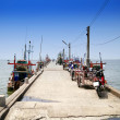 View of jetty . — Stock Photo