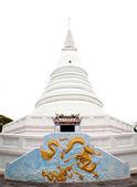 Vita pagoda — Stockfoto