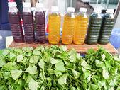 Herb juice . — Stock Photo