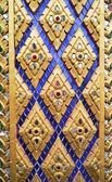 Golden thai style texture. — Stock Photo