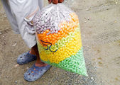 Colorful food fish . — Stock Photo