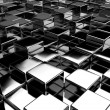 Abstract 3d background of the cubes — Stock Photo