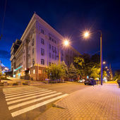 Avenue Ilicha, Donetsk — Stock Photo