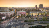 Skilines of Donetsk — Stock Photo