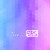 Digital hexagon pixel mosaic, bright background — Stock Vector