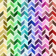 Seamless geometric pattern, colorful mosaic — Imagen vectorial