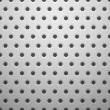White metal texture with holes — Imagen vectorial