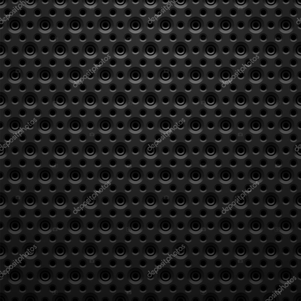 Futuristic Metal Texture Black Metal Texture With Holes