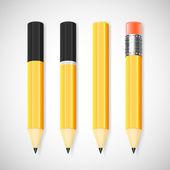 Vektör kalem seti — Stok Vektör