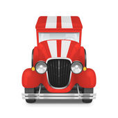 Retro car icon — Stock Vector