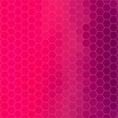 Digital hexagon pixel mosaic abstract background — Stock Photo