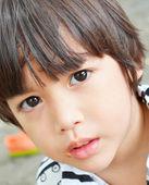 Little boy beautiful eyes portrait — Stock Photo