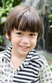 Little asian boy smiling portrait — Stock Photo