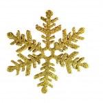 Golden snowflake — Stock Photo #33069779