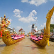 Thai royal barge, supreme art of Thailand — Stock fotografie