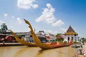 Thai royal barge, supreme art of Thailand — Stockfoto