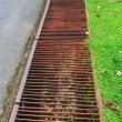Drainage ditches on roadside — Stock Photo #31759897