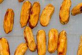 Bananas were dried in greenhouses — Stok fotoğraf
