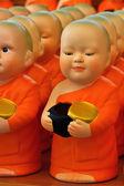 Štuk nováčky v Thajsku chrámu — Stock fotografie