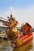 Koninklijke barge, opperste kunst van thailand — Stockfoto