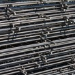 Pile of welded wire mesh — Stock Photo