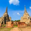 Pagoda at wat phra sri sanphet temple, Ayutthaya, Thailand — Stock Photo #31980881