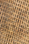 Bamboo woven background — Stockfoto