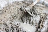 Mixing mortar — Stock Photo