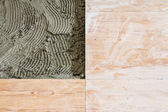 Floor tiling — Stock Photo