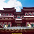 BuddhTooth Relic Temple in ChinTown Singapore — Stock Photo #35900929