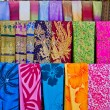 Colorful balinese cloth for sale  — Stok fotoğraf