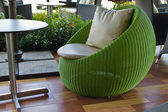 Sphere chairs — Stock Photo