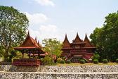 Thai tytułują dom — Zdjęcie stockowe