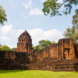 Khmer temples in Mueang Sing historical park — Stock Photo