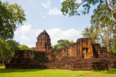 Khmer temples in Mueang Sing historical park — Photo