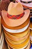 Cowboy hat in the market — Stock Photo